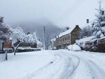 The Street, North Nibley. Winter 2009